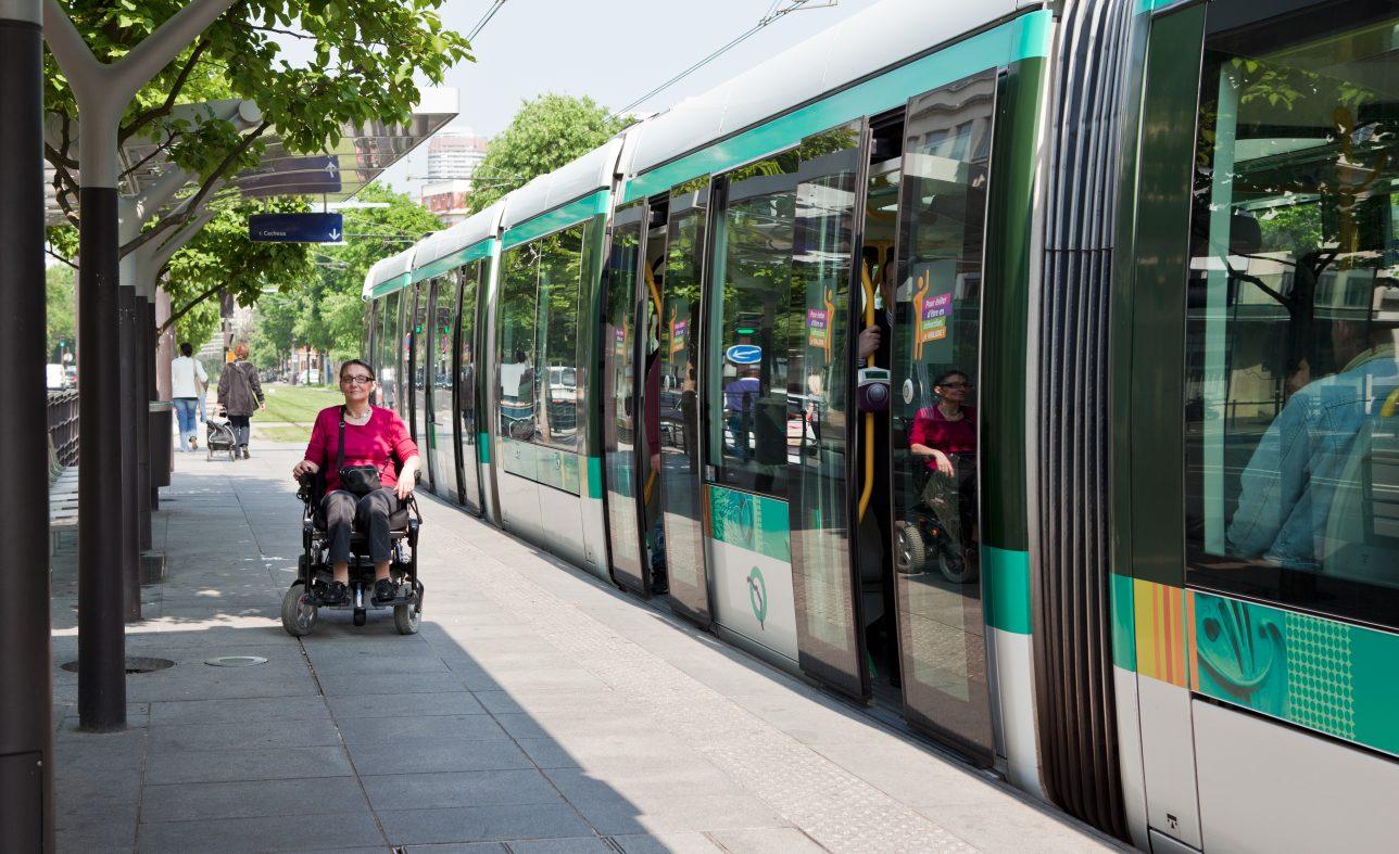 Les tramways d'Île-de-France Mobilités, des tramways accessibles